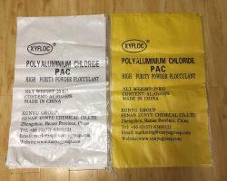 Poly-aluminium-chloride-bags